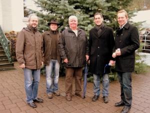 Weihnachtsmarkt in Eiserfeld am 6. Dezember 2009