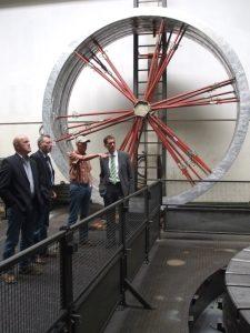 Besuch des Flanschenwerks Zeppenfeld in Neunkirchen