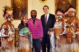 Delegation aus West-Papua besucht Siegen
