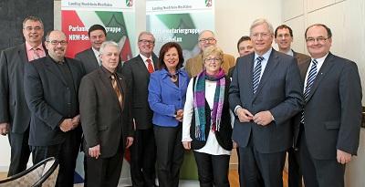 Besuch der Kontaktgruppe Deutschland des niederländischen Parlaments