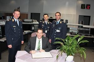 Jens Kamieth MdL besucht Hachenberg Kaserne
