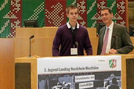 Jetzt bewerben als Jugend-Landtags-Abgeordneter