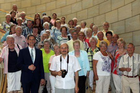 Jens Kamieth erhält Besuch aus dem Wahlkreis