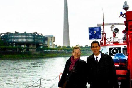 Wirtschaftsjuniorin auf Landtags-Besuch bei Jens Kamieth