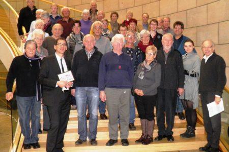 Heimat- und Verschönerungsverein Achenbach besucht den Landtag