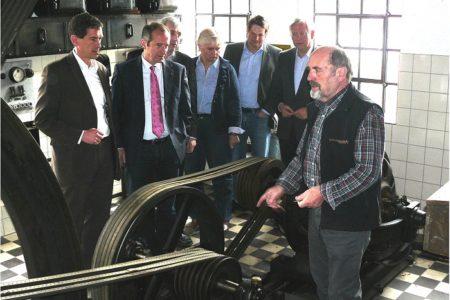 Oliver Wittke MdB besucht Technikmuseum Freudenberg