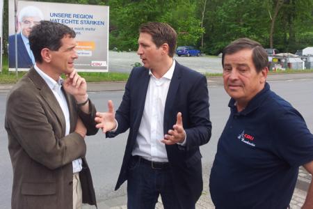 Jens Kamieth – unterwegs im Wahlkreis