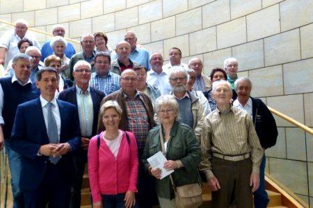 Besuch aus dem Wahlkreis im Landtag