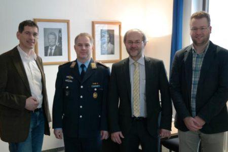 Volkmar Klein MdB und Jens Kamieth MdL besuchen Luftwaffenstandort Erndtebrück