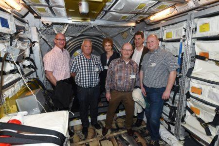 Jens Kamieth MdL – Besuch im Deutschen Zentrum für Luft- und Raumfahrt und im Europäischen Astronautenzentrum