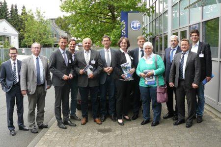 Jens Kamieth MdL besucht mit südwestfälischen Landtagsabgeordneten Freudenberg und Netphen