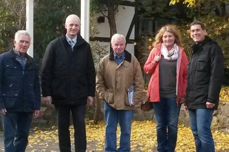Jens Kamieth MdL besucht Golddorf Holzhausen