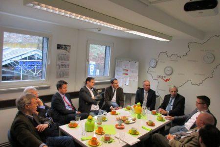 Südwestfälische CDU-Landtagsabgeordnete besuchen regionale Medien