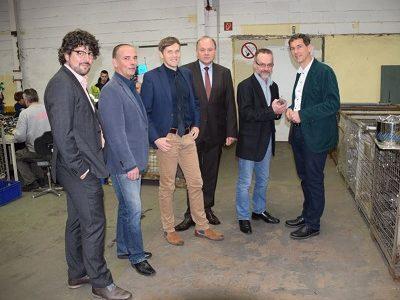 Jens Kamieth besucht SRW