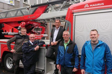 Jens Kamieth besuchte Feuerwehr Freudenberg