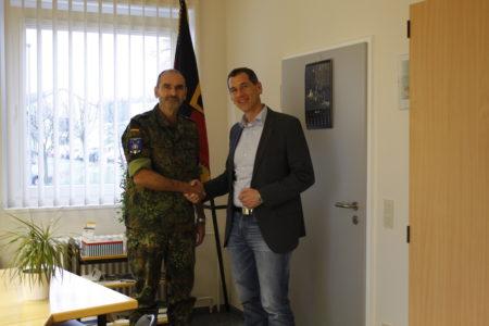 Besuch in der Hachenberg-Kaserne am 10.12.2018