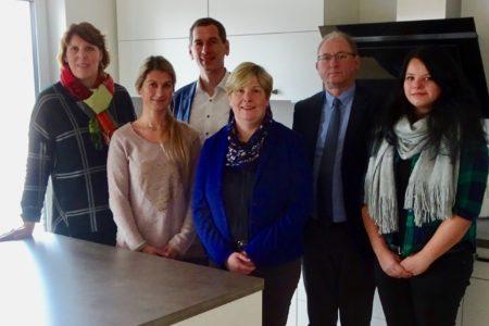 Landesbehinderten- und Patientenbeauftragte Claudia Middendorf zu Besuch in Freudenberg