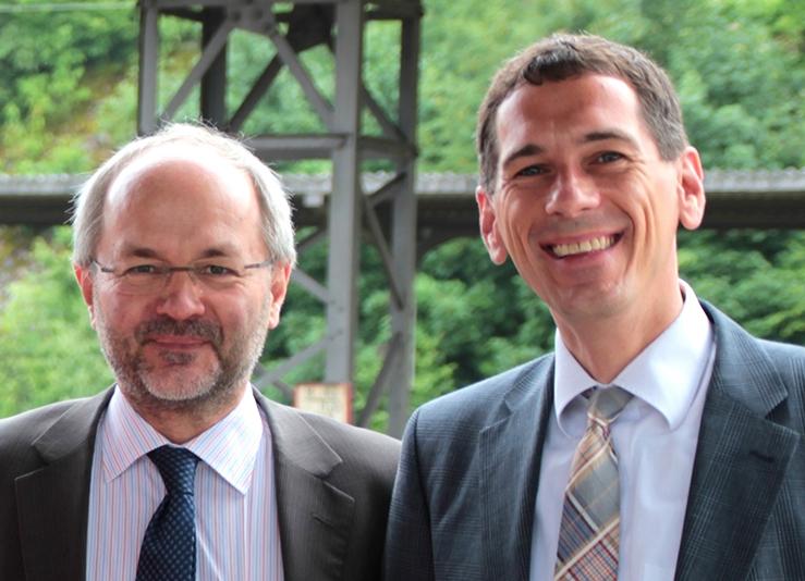CDU-Landtagsabgeordneter Jens Kamieth MdL und CDU-Bundestagsabgeordneter Volkmar Klein MdB