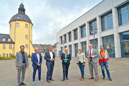 Ministerin Pfeiffer-Poensgen zu Besuch an der Universität Siegen